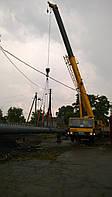 Возведение конструкций металлических дымовых труб.