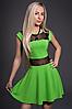 Платье женское модель №349-5, размеры  42 зелень