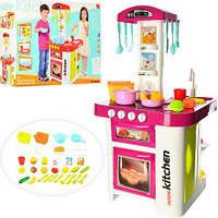 Кухня  Kitchen 889-59-60 со звуком и водой розовая