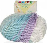 Alize, Baby Wool Батик 3566