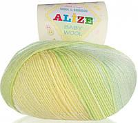 Alize, Baby Wool Батик 3569
