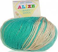Alize, Baby Wool Батик 4005