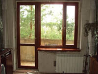 Деревянные окна. Установка окон. Остекление квартир
