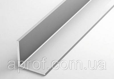 Куточок алюмінієвий 40х100х4 мм (АНОД)