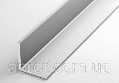 Уголок алюминиевый 30х30х2 мм (АНОД)