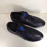 Кроссовки мужские кожаные р. 45 последняя пара цвет черный, фото 8