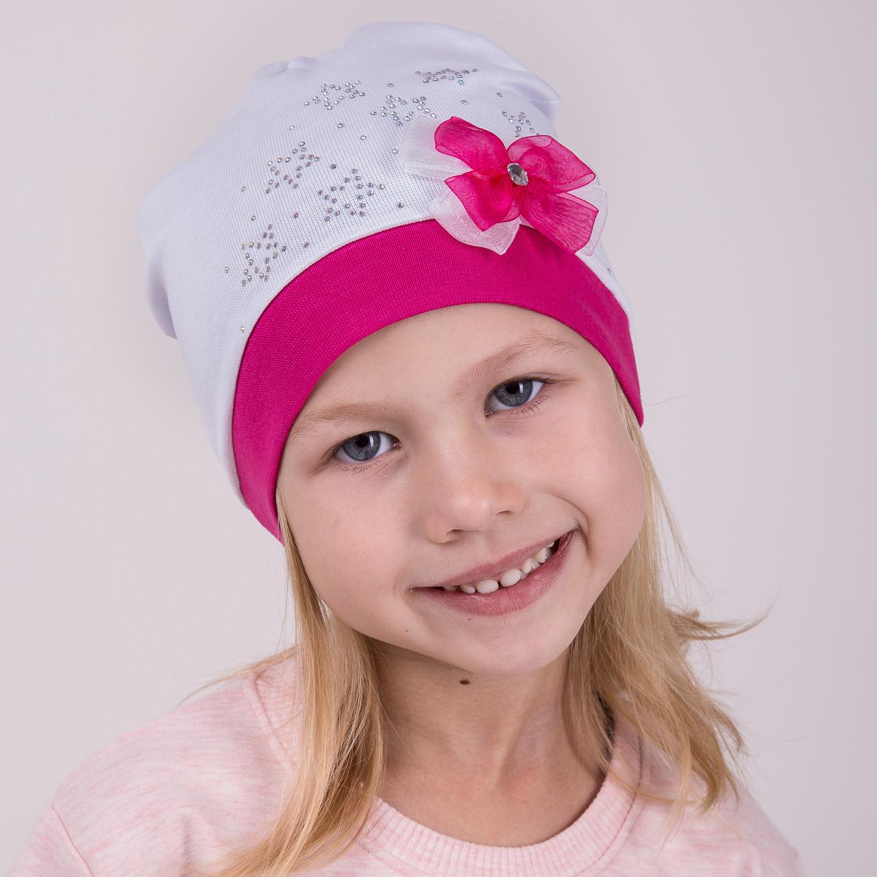 Шапка с бантиком для девочек 2018 оптом - Артикул 2119