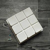 Форма силиконовая для евро-десетов Cubik (кубик)
