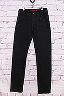 Мужские джинсы классического покроя черные Colomer (код 1213)