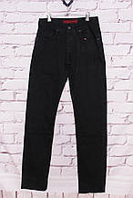 Чоловічі джинси класичного покрою чорні Colomer (код 1213)