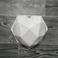 Форма силиконовая для евро-десетов HEART (Сердце)
