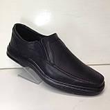 Мужские кожаные туфли, очень качественные, прошитые, фото 2