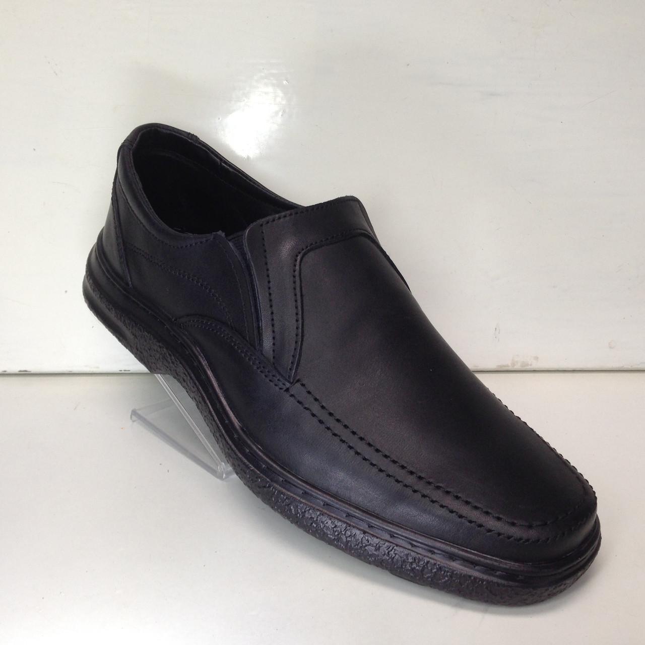 Мужские кожаные туфли, очень качественные, прошитые