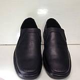 Мужские кожаные туфли, очень качественные, прошитые, фото 3