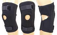 Наколенник-ортез коленного сустава с открытой коленной чашечкой 1210: регулируемый размер
