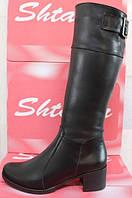 Сапоги зимние женские на каблуке, сапоги женские зима от производителя модель СТС16К