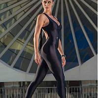 Комбинезон спортивный женский для фитнеса, йоги, спорта, бега, з