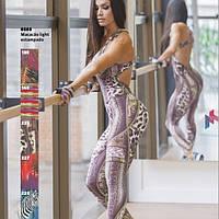 Комбинезон спортивный женский для фитнеса, йоги, спорта, бега, зала, фото 1