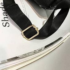 Рюкзак с ушками двухсторонние пайетки, черно-бордовый 207-23, фото 2
