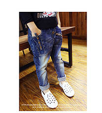 """Детские джинсы """"Молния"""" для мальчиков 202-10, фото 3"""