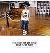 Джинсы на мальчика, модные с потертостями 202-9, фото 5