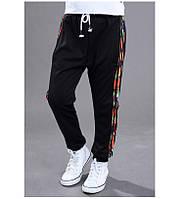 Модные спортивные штаны с манжетами на мальчика 201-10