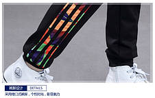 Модные спортивные штаны с манжетами на мальчика 201-10, фото 2