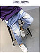 Светлые рваные детские джинсы - узкие 202-8, фото 5