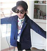 Детская ветровка на девочку - Микки Маус - с капюшоном на молнии 203-4