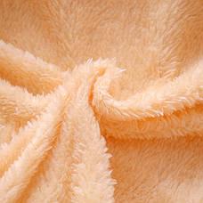 Курточка детская теплая с капюшоном и ушками зайчика желтая - 205-7, фото 3