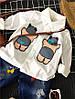 Детская рубашка для мальчика - Спящий мишка Соня 203-2