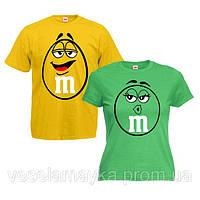 """Парные футболки """"M&M's"""""""
