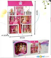 Кукольный домик детский с мебелью для Барби 66885