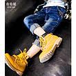 Модные джинсы на мальчика, с заклепками и потертостями 202-5, фото 4