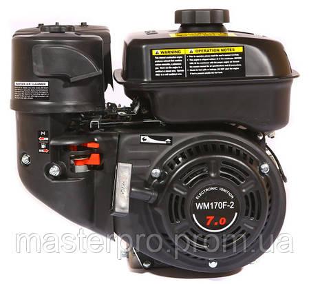 Двигатель с редуктором Weima WM170F-1050 (1800 об/мин. вращение по часовой стрелке), фото 2
