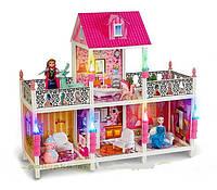 Кукольный домик детский с мебелью Frozen 4 комнаты 66906