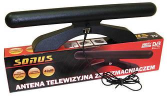 Комнатная антенна т2 SONUS TV с усилителем