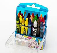 Цветные мелки для рисования 2455FN Пегашка, 24 цвета