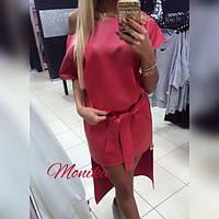 Платье прямоугольное на одно плечо, фото 1