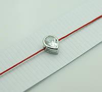 Обереги, браслеты обереги из красной нити в серебре 1167