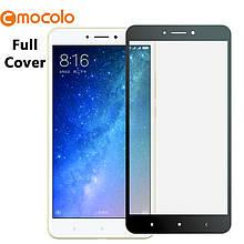 Защитное стекло Mocolo Full сover для Xiaomi Mi Max 2 черный
