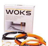 Система антиобледенения нагревательный кабель Woks 23 Вт/м