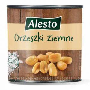 Соленые орешки Alesto Orzeski ziemne 150гр. ЖБ (Польша)