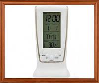 Электронные настольные часы для дома LED будильник .Термометр