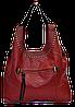 Симпатичная женская сумочка красного цвета GEB-142996