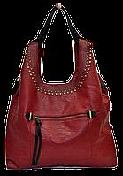 Симпатичная женская сумочка красного цвета GEB-142996, фото 1
