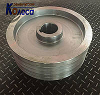 Шкив стальной, изготовление шкивов под заказ, фото 1