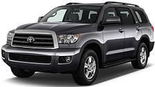 Защиты двигателя на Toyota Sequoia (c 2008--)