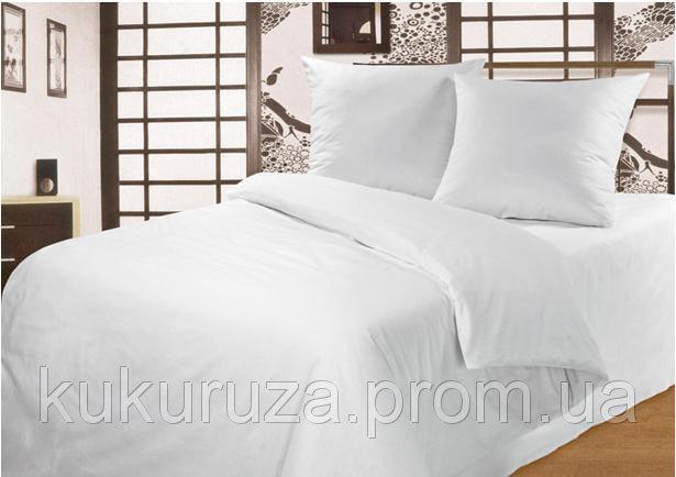 """Двуспальный с евро простынью комплект постельного белья """"Чистота"""""""