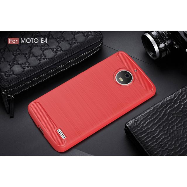 чехол накладка на Motorola Moto E4 XT1762 красный